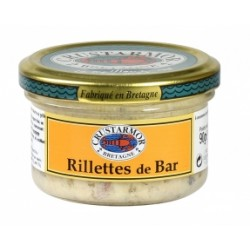Rillettes de Bar 90Gr